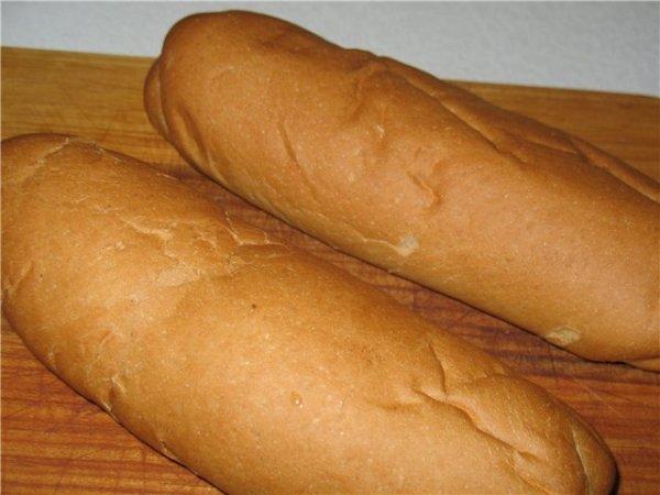 Как сделать хот-дог в хлебе