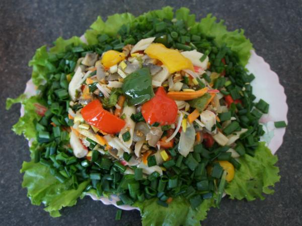 Салат любава рецепт